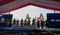 KCC글라스 인도네시아 자바 바땅산단 공장 첫 삽