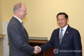 中·아세안에 손짓·러 방문…미얀마 흘라잉 적극 외교행보 왜?